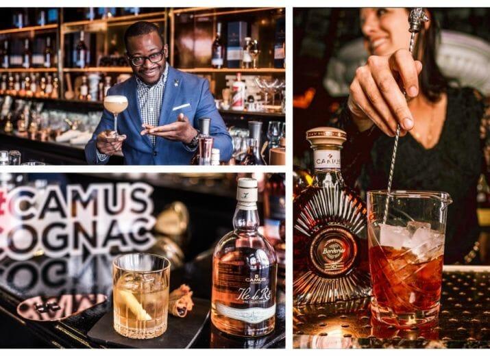 Cocktail Solidaire Camus cognac