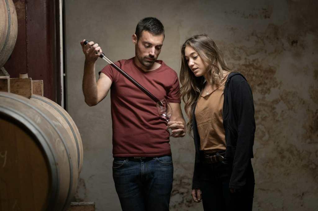Maxime Saint-Martin, vigneron & Joséphine Berry, comédienne