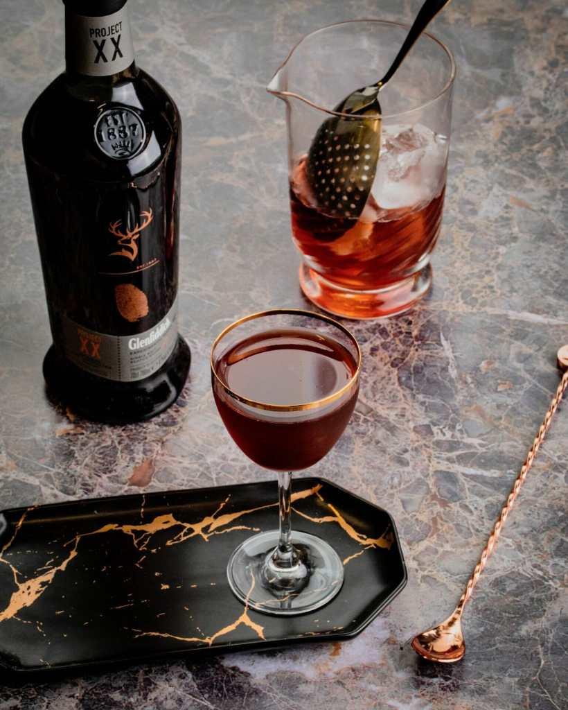 Cocktails Glenfiddich - Rob Roy