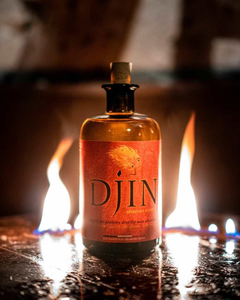 Djin spiritueux sans alcool bio