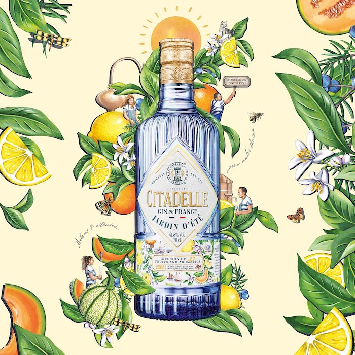 Gin citadelle Jardin d'été