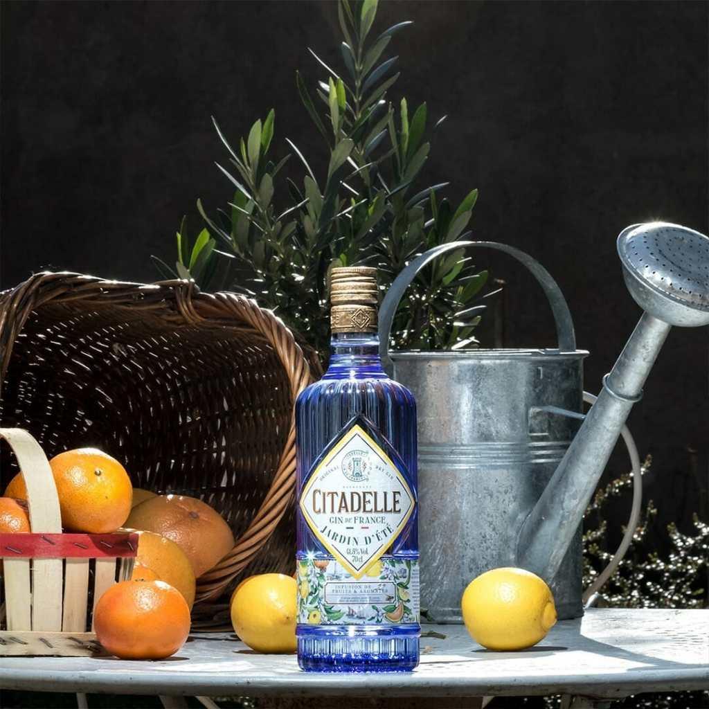 Gin citadelle cocktail