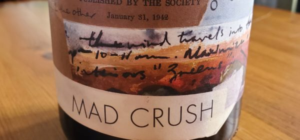 Please The Palate Wine of the Week: ONX Wines Mad Crush 2017 Paso Robles