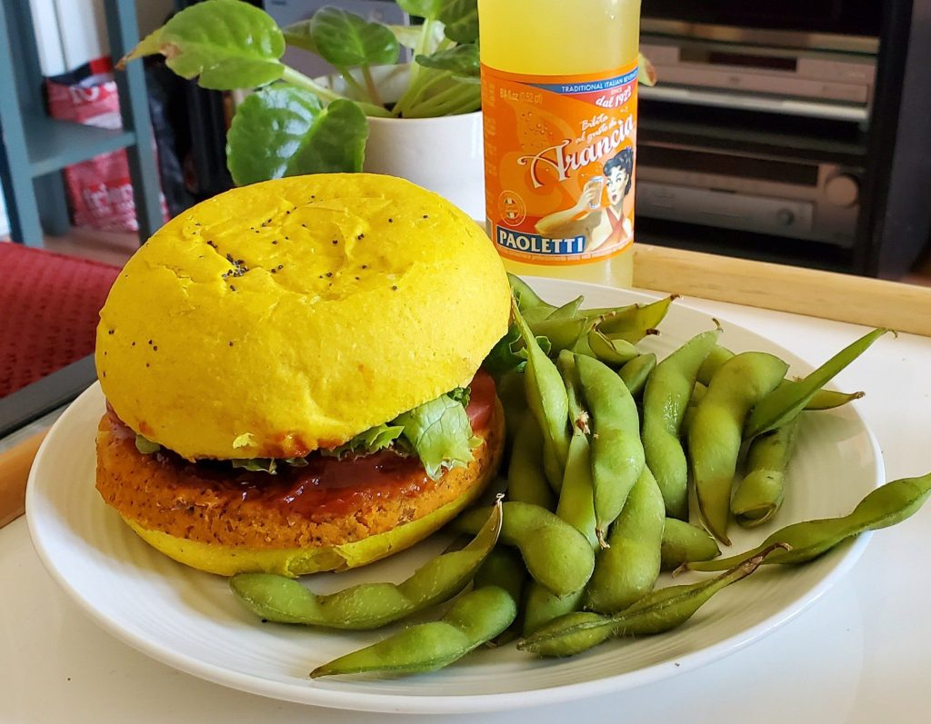 Please The Palate Pick of the Week: Flower Burger Plant-Based Rainbow Burgers