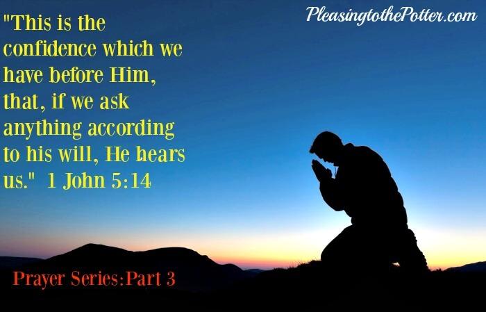 Prayer Series:Part 3