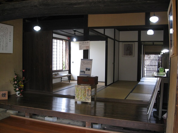 木戸孝允旧宅玄関2