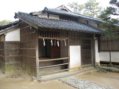 吉田松陰旧宅の写真