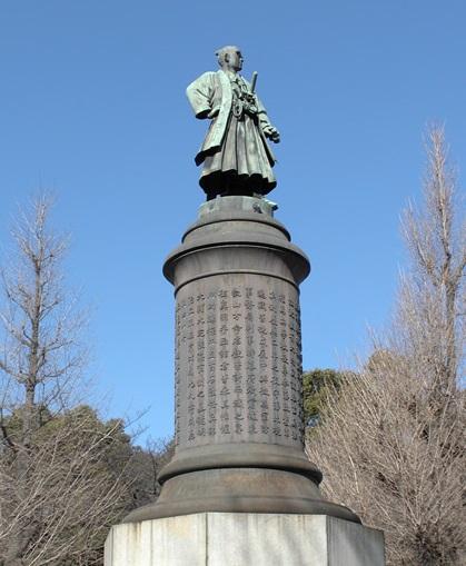 大村益次郎の銅像