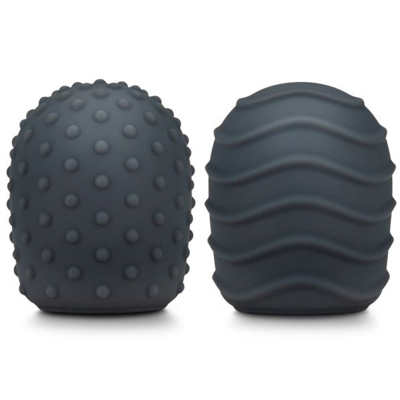 The raised dot and ripple silicone texture covers for the Le Wand Petite