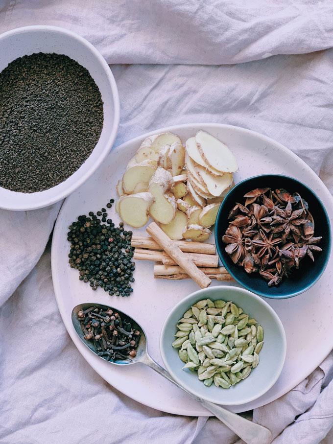 chai-tea-ingredients homemade