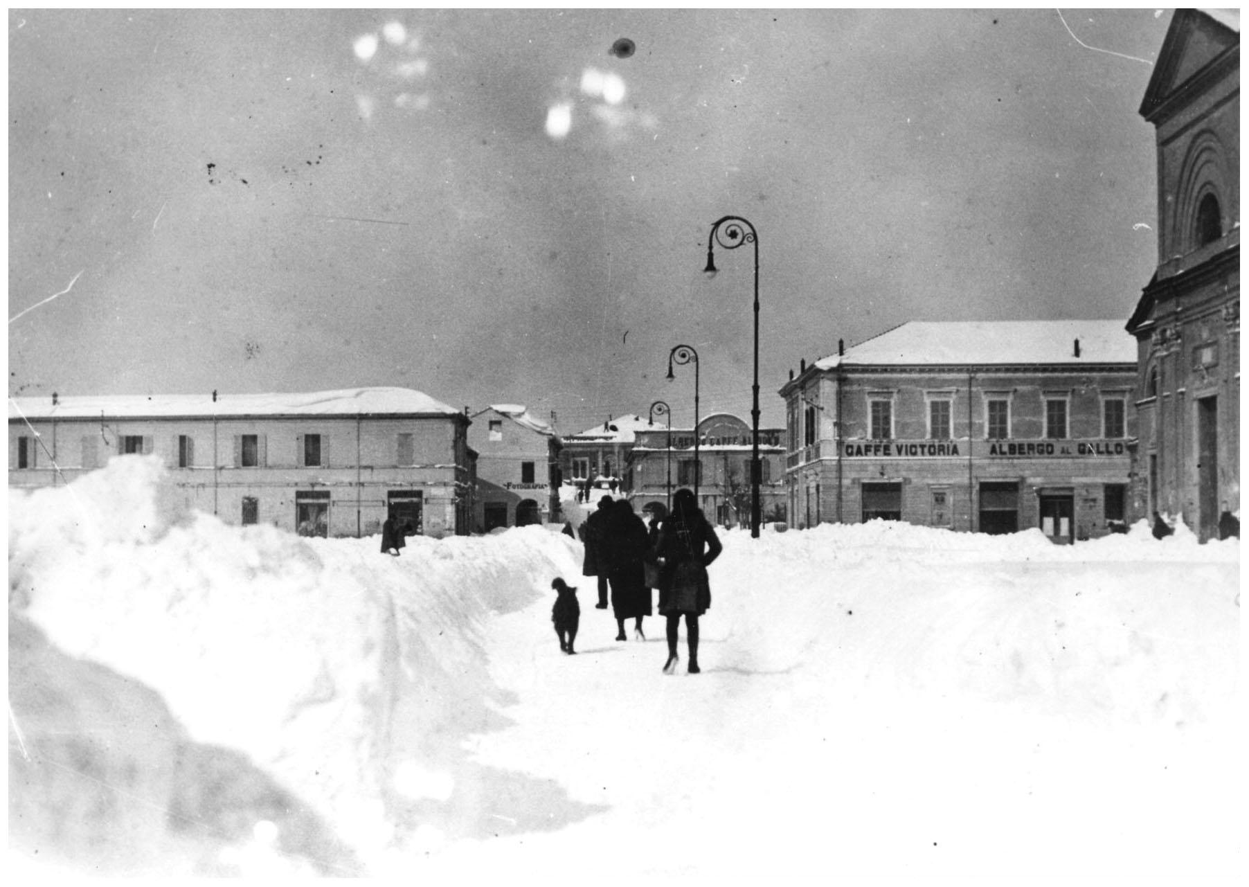 Alfonsine Ravenna neve Snow _1929   Pleasurephoto