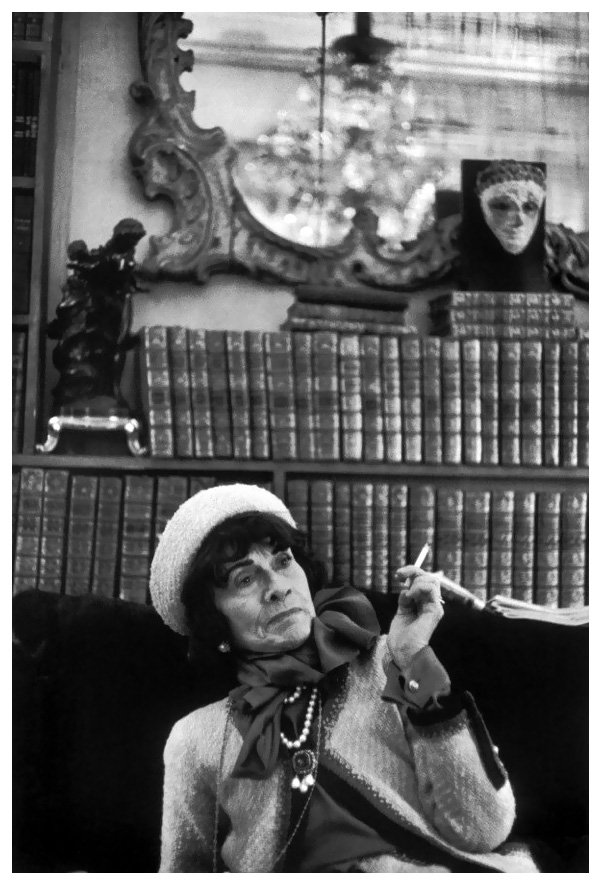 Henri CartierBresson 1964 Coco Chanel   Pleasurephoto