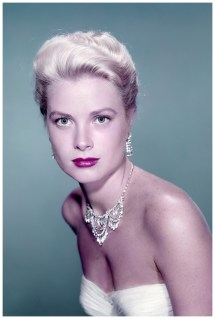 American Actress Grace Kelly Promoting Catch Thief