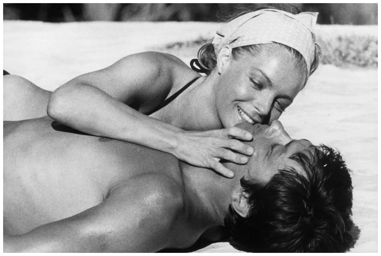 Alain Delon and Romy Schneider 1968   Pleasurephoto Room