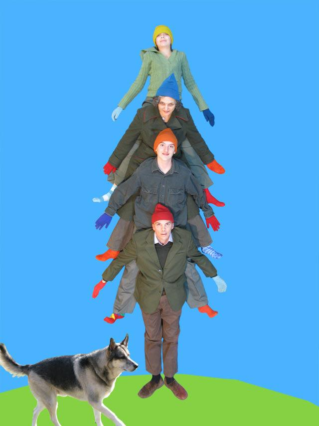 Clever Christmas Cards 4 Pleated Jeans