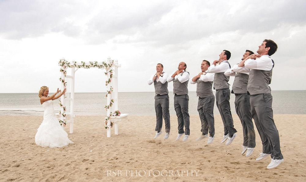 21 Funny And Clever Wedding Photos
