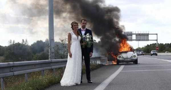wedding fails, wedding fails pictures, funny wedding fails, epic funny wedding fails, epic wedding fails compilation, hilarious wedding fails, hilarious wedding picture fails, funniest wedding fails, hilarious wedding photo fails, wedding fail pics, wedding fail, wedding fail picture, bride and groom with burning car