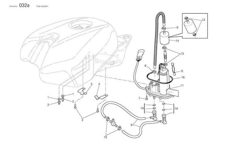 DUCATI Fuel Pump ORing seal 1098 1198 848 MS SF PN
