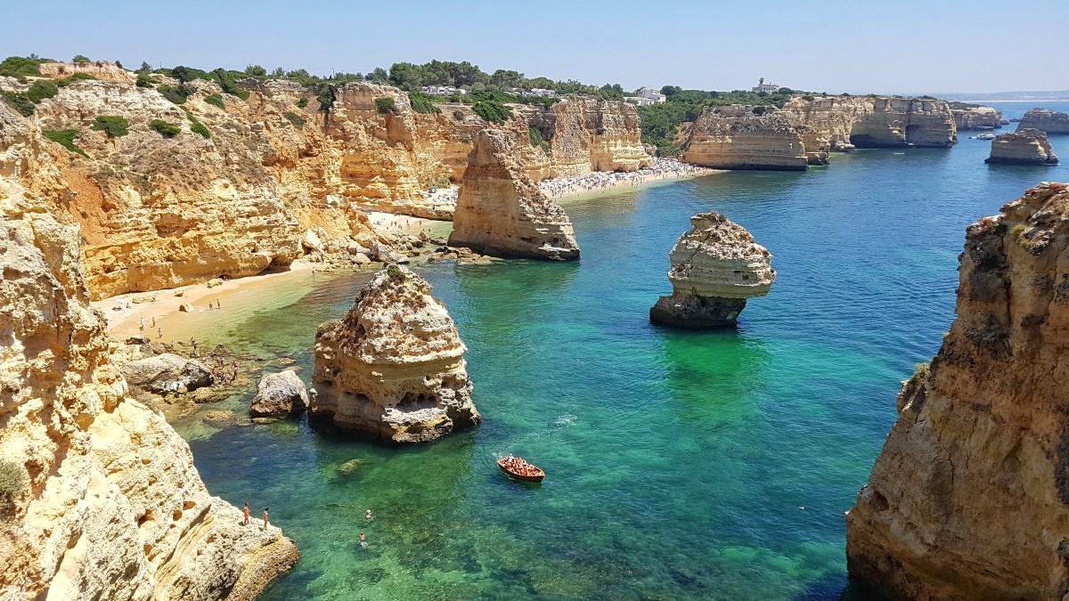 Top 3 plaje de neratat pe Coasta Algarve, Portugalia