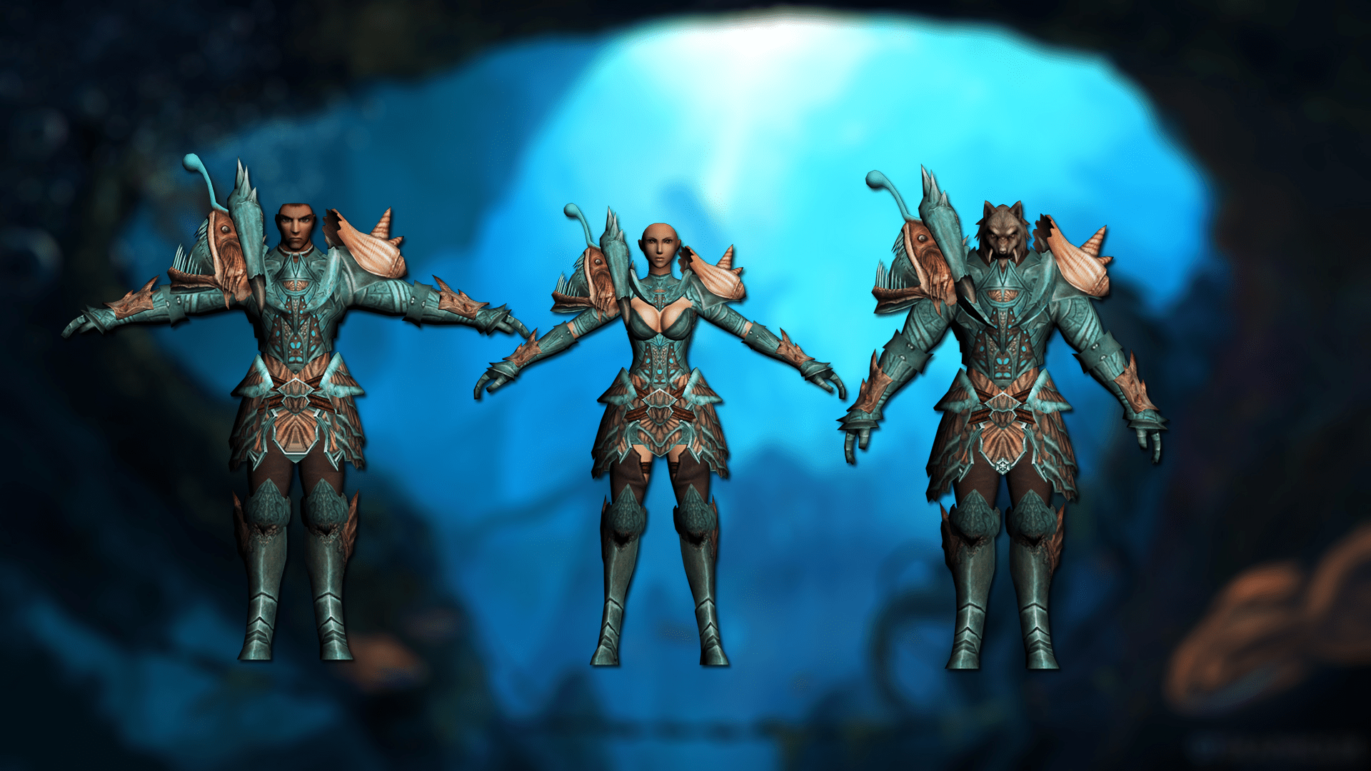 Water armors