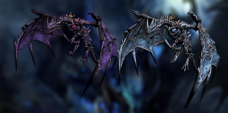 Fantasy dragon mounts