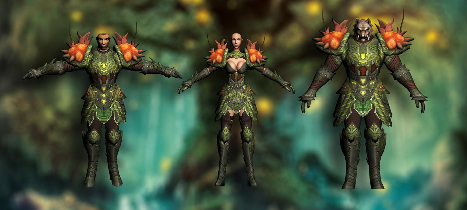 Natural armors