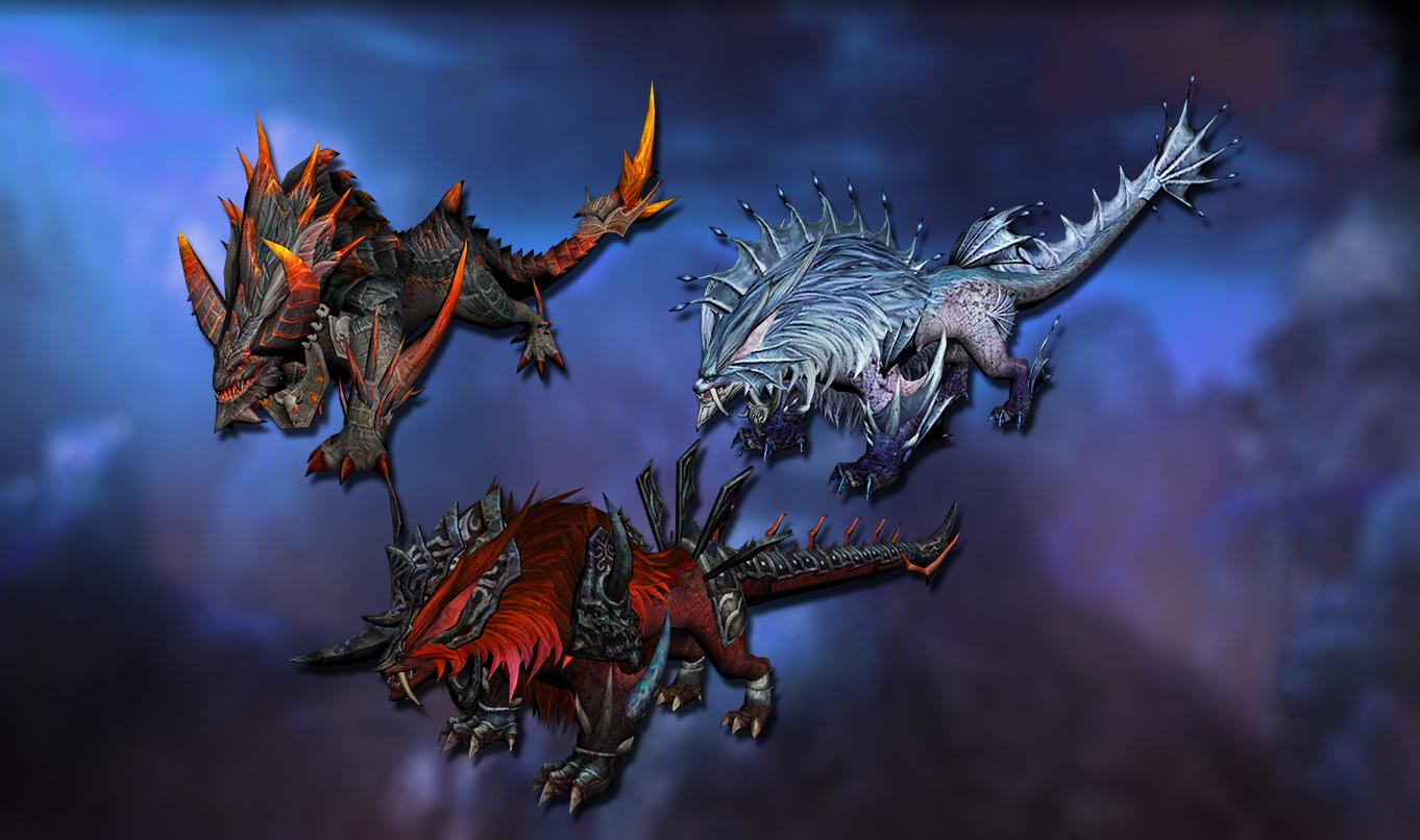 New beast mounts
