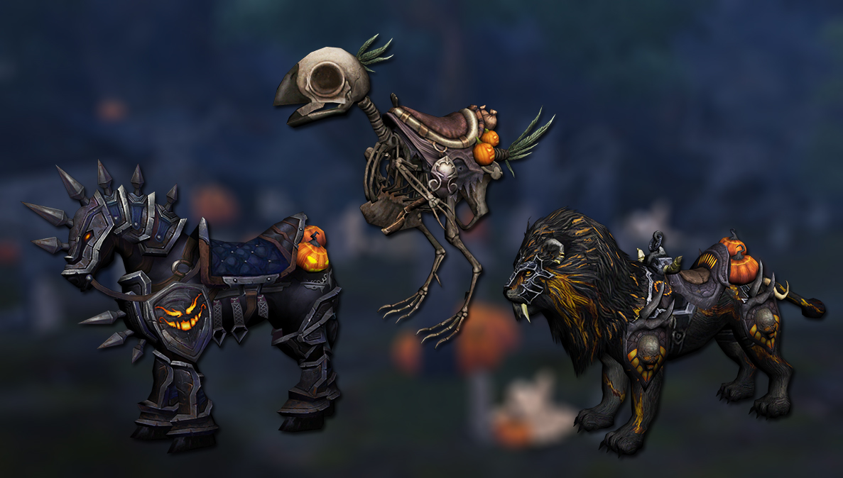 Halloween mounts