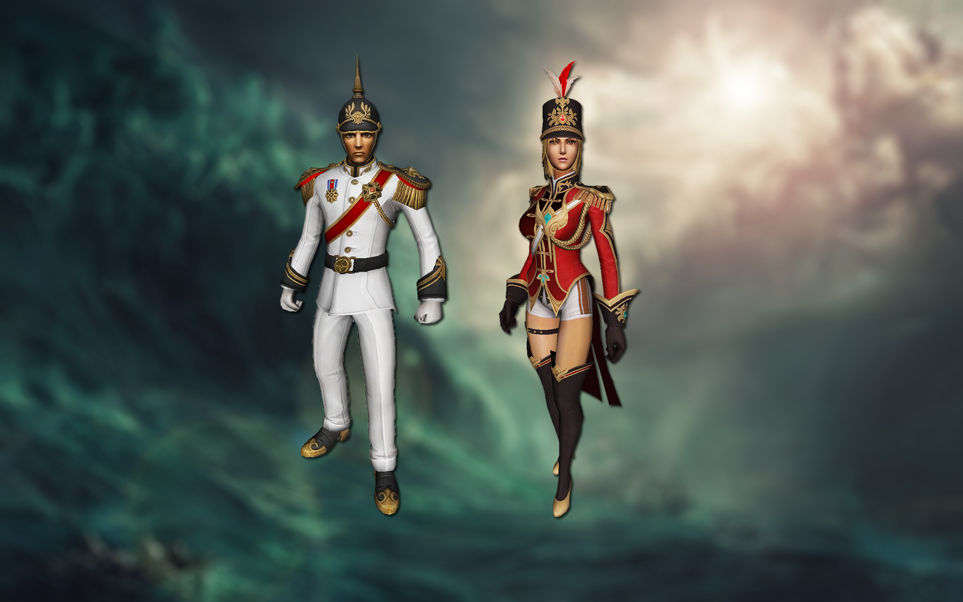 [FREE]Admiral costumes