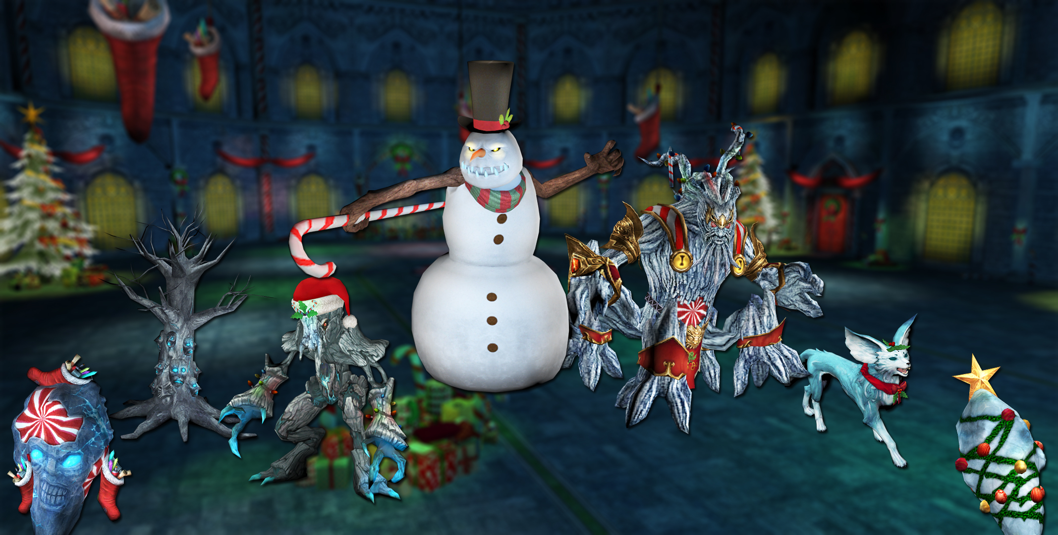 Christmas halls dungeon