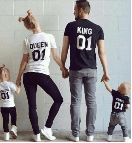 T-shirts pour la famille