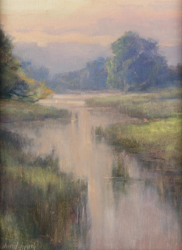 Artist David Heath  Plein Air Easton