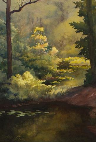 Artist Susan Lynn  Plein Air Easton