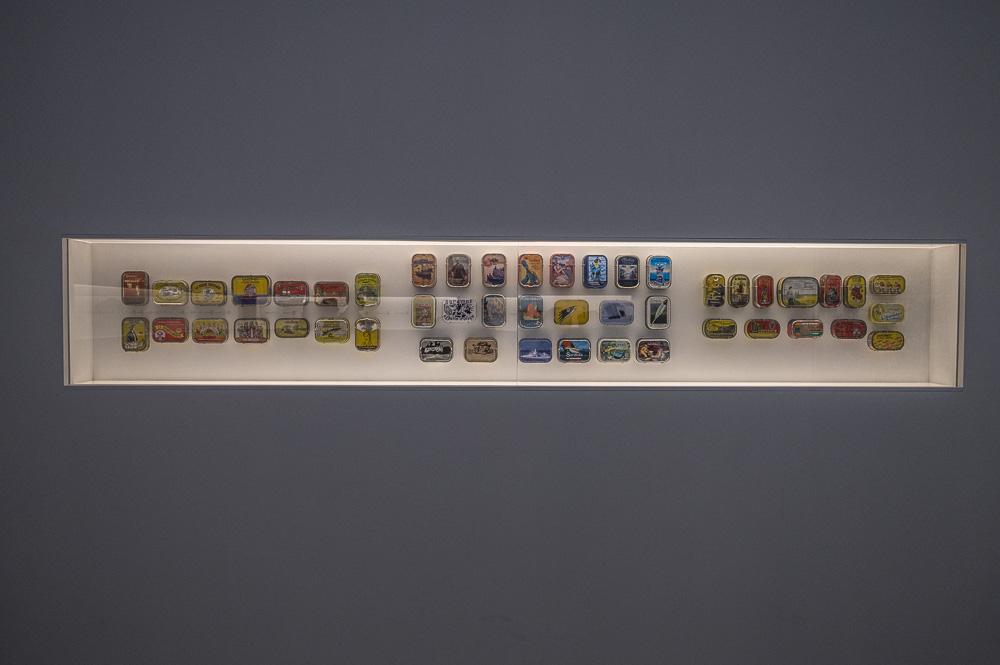Collection de boites de sardines portugaises