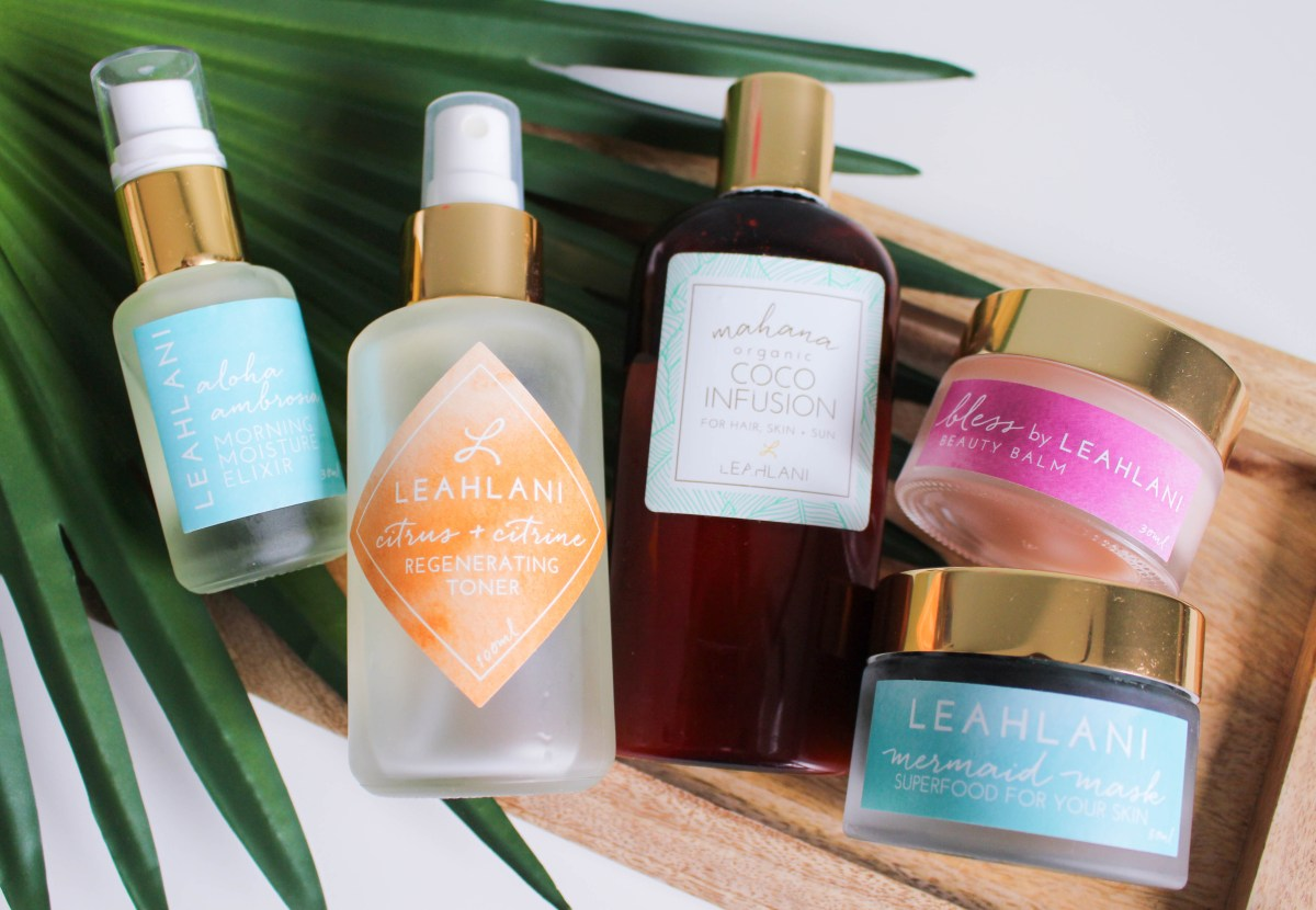 Paradise Revealed: Leahlani Skincare's Island-Inspired Products Promote Beautiful, Rested Skin