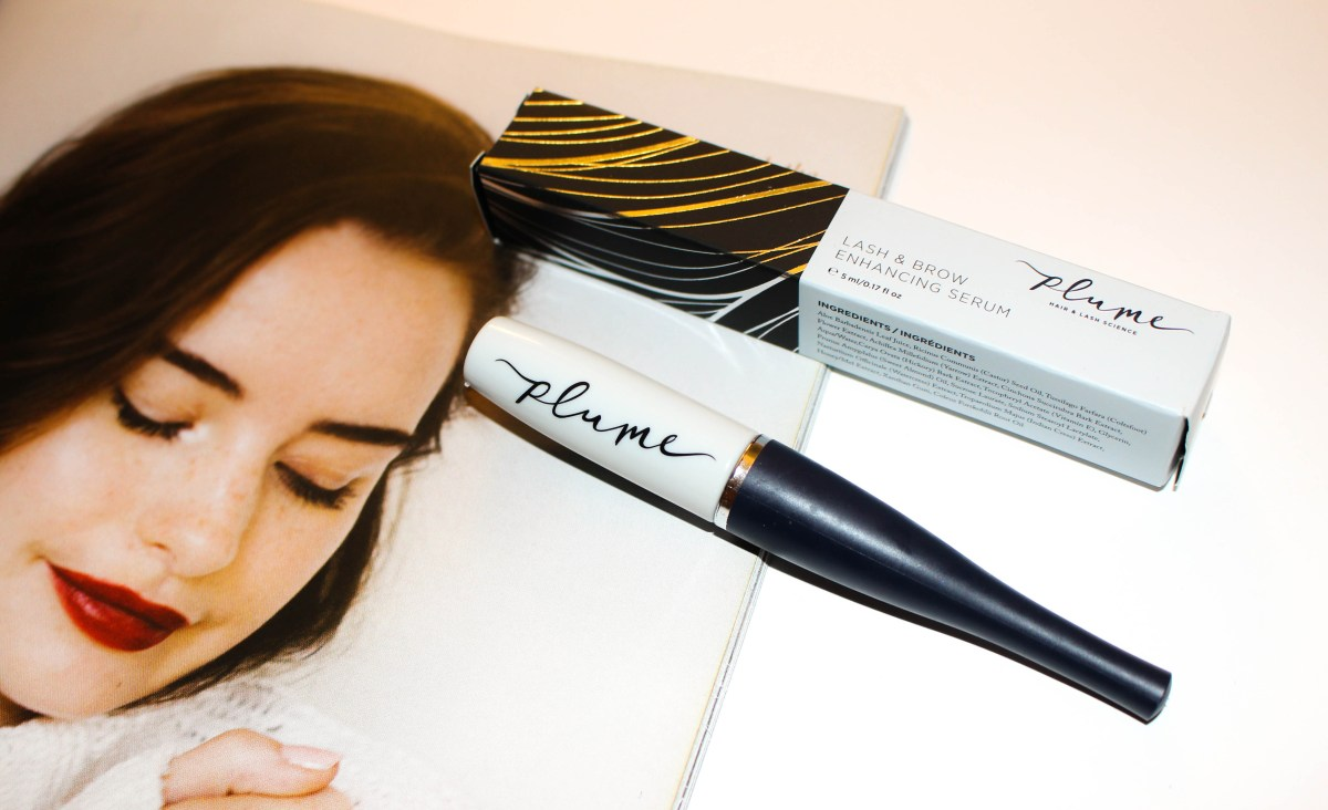 Natural Lash Growth with Plume's Lash & Brow Enhancing Serum