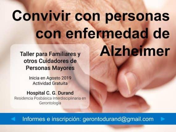 Taller para familiares de personas con Alzheimer u otra demencia