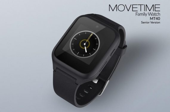 Tecnología de apoyo: reloj 4G para personas mayores