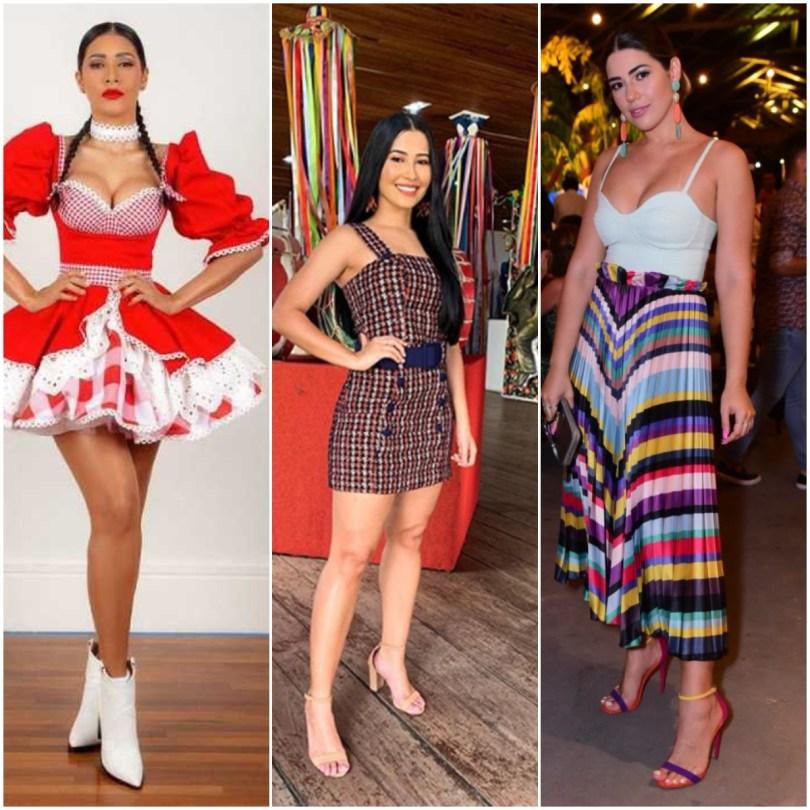 8 looks de festa junina de famosas para inspirar - Plena Mulher