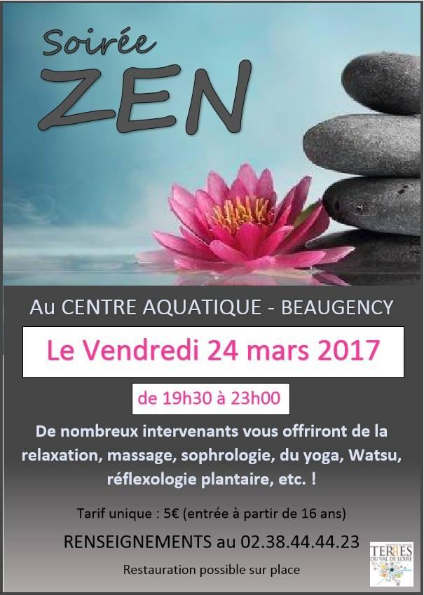 Soirée ZEN 24 mars 2017