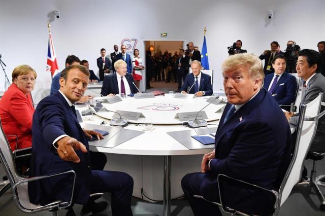 Resultado de imagem para G7 concorda em ajudar o Brasil e demais países afetados por incêndios na Amazônia