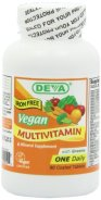 deva vegan multivitamin iron free