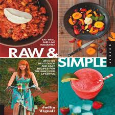raw and simple recipe book