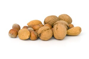 nuts polyunsatured healthy fat