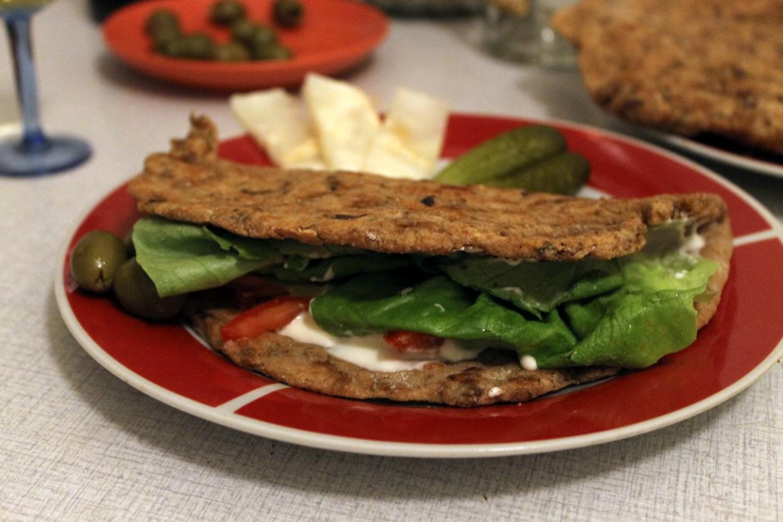 Lentil and Mushroom Flat Bread Recipe – Vegan