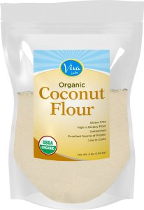 coconut flour healthy fats