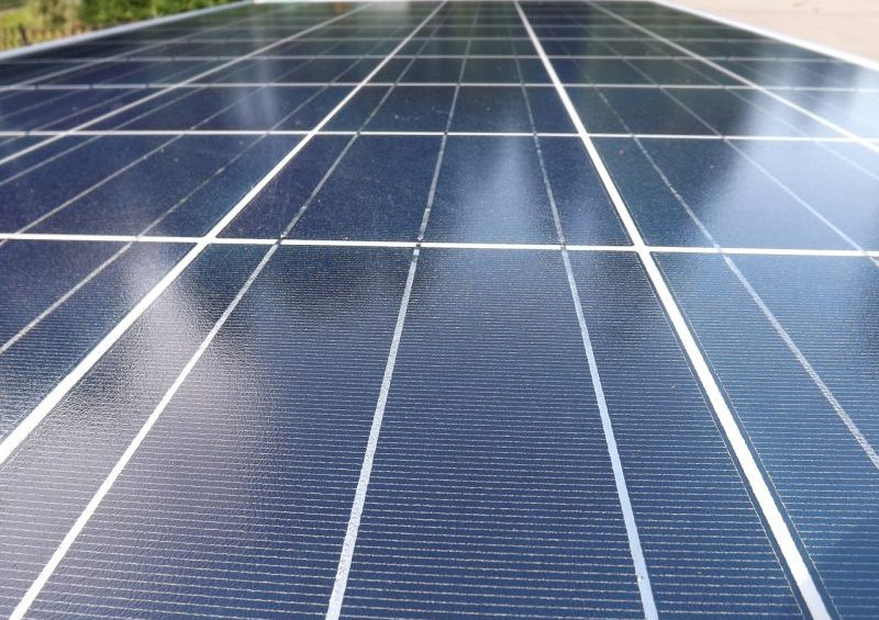 What is the best way to clean solar panels