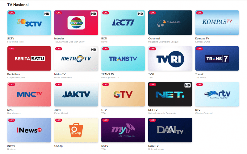tv indonesia live streaming