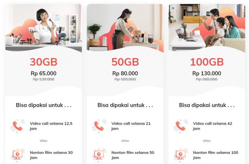 harga paket telkomsel orbit