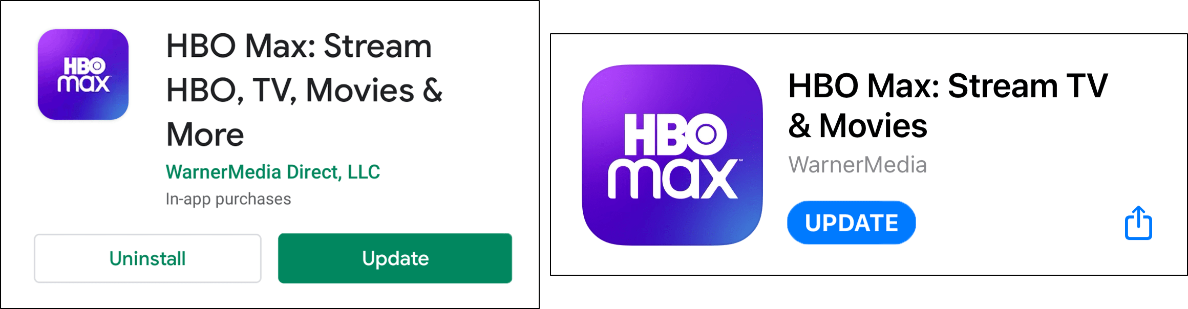 update HBO Max app to fix HBO Max subtitles or closed captions not working, showing or loading